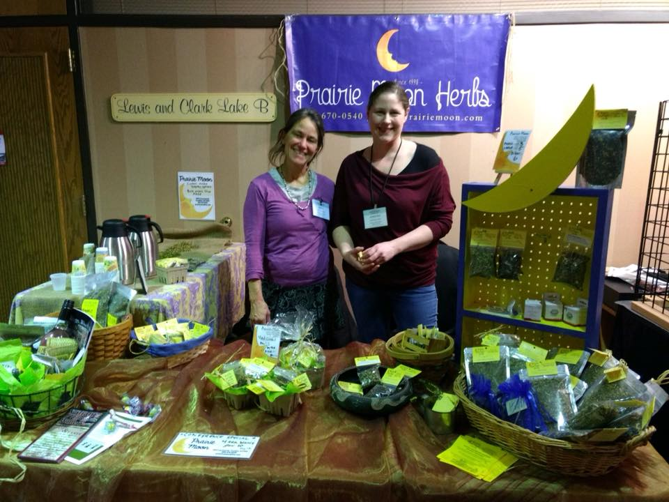 SDSPA member Prairie Moon Herbs booth at the S.D. Tourism Conference