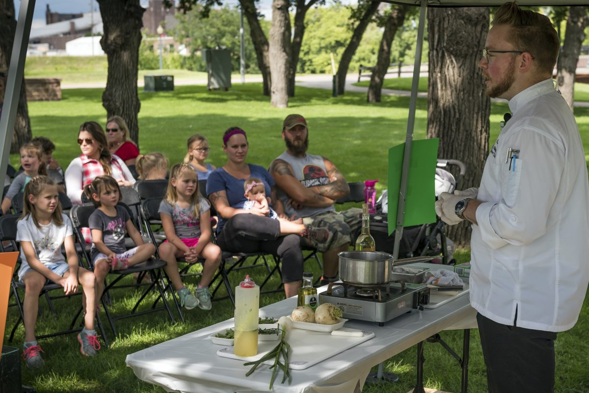 Local Foods Fair Held in Sioux Falls