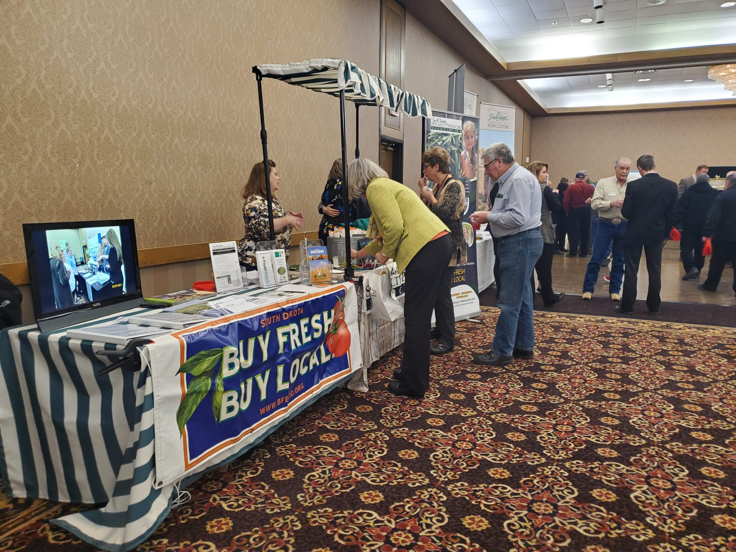 SDSPA promotes industry at AgFest 2020