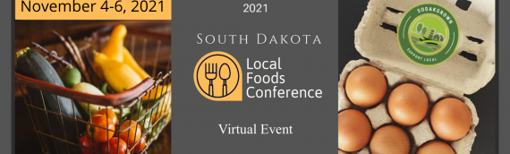 Register Now for 2021 S.D. Local Foods Conference