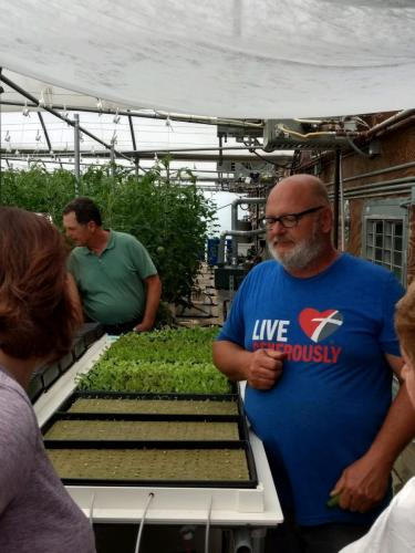 SDSPA Tour 2019- Happy Hydros, Seedlings & Owner Mark Scholl.