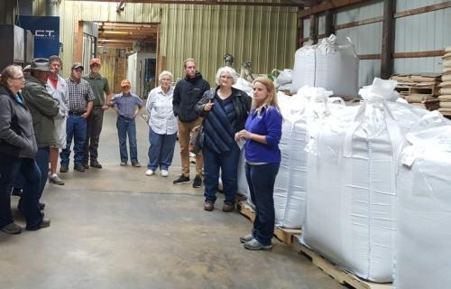 Stengel Seed and Grain has been a food-grade organic grain cleaner for over 40 years. On Sept. 13 they hosted a tour of their organic seed processing operation in Milbank.