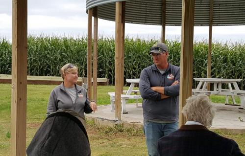 Mark & Emily Mueller, owners of the Big Stone Pumpkin Patch, discuss producing specialty products & entering the agritourism market.