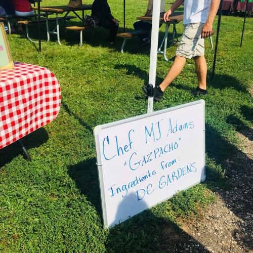 CChef MJ Adams Black Hills Farmers Market- Local Foods & Chefs, Aug, 2018