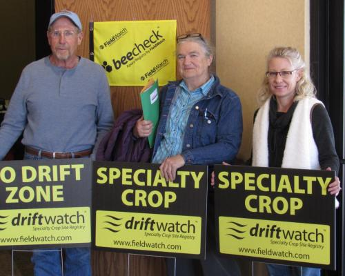 SDSPA Annual Meeting 2018-Driftwatch sign winners