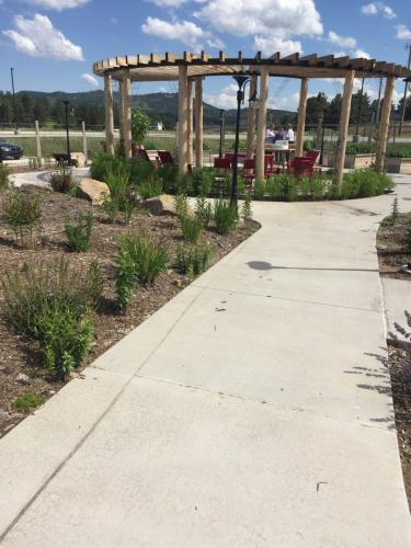 Custer Healing & Wellness Garden, Custer Regional Hospital- Aug. 9, 2019.