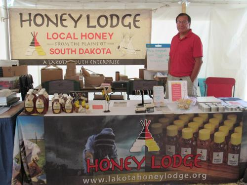2017 Value Added Ag Day at the State Fair-Honey Lodge