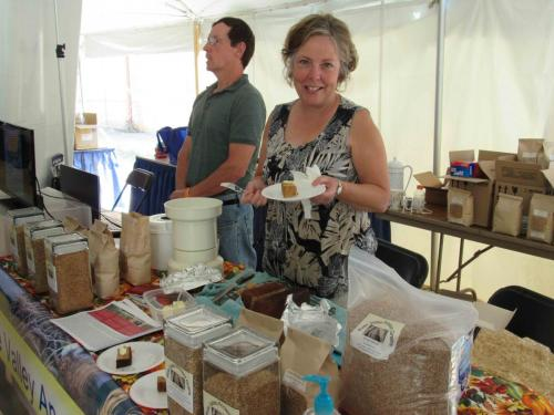 2017 Value Added Ag Day at the State Fair-Belle Valley Ancient Grains