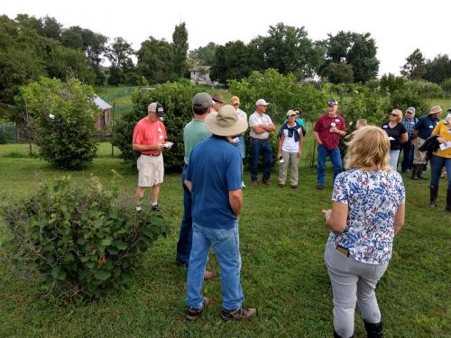 SDSPA 2018 Farm Tour- Ausborn Nut Grove