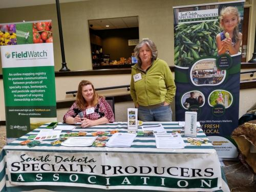 Lakota Food Summit- Feb. 2020 Assisting producers with Specialty Crop Block Grant program, VISTA worker opportunity in Rapid City area, SDSPA website scholarships.