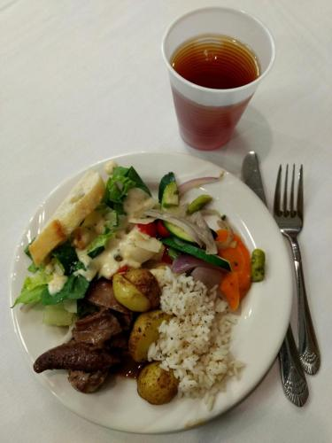 Locally sourced foods were incorporated into the event lunches at the 2019 SD Local Foods Conference.