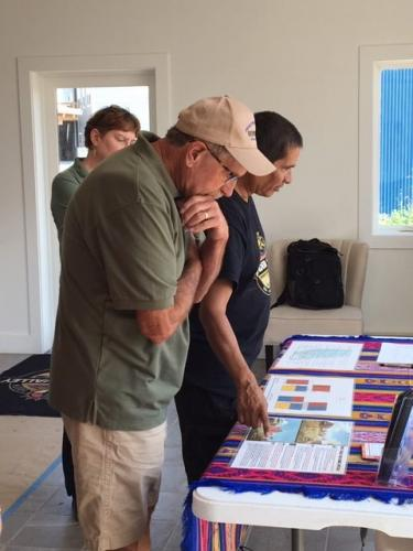 Learning about Thunder Valley Housing & Homeownership Project- SDSPA Tour Aug. 17, 2019.