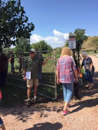 2017 SDSPA Tour-Tom Barnes, Goats, Pleasant Valley Farm